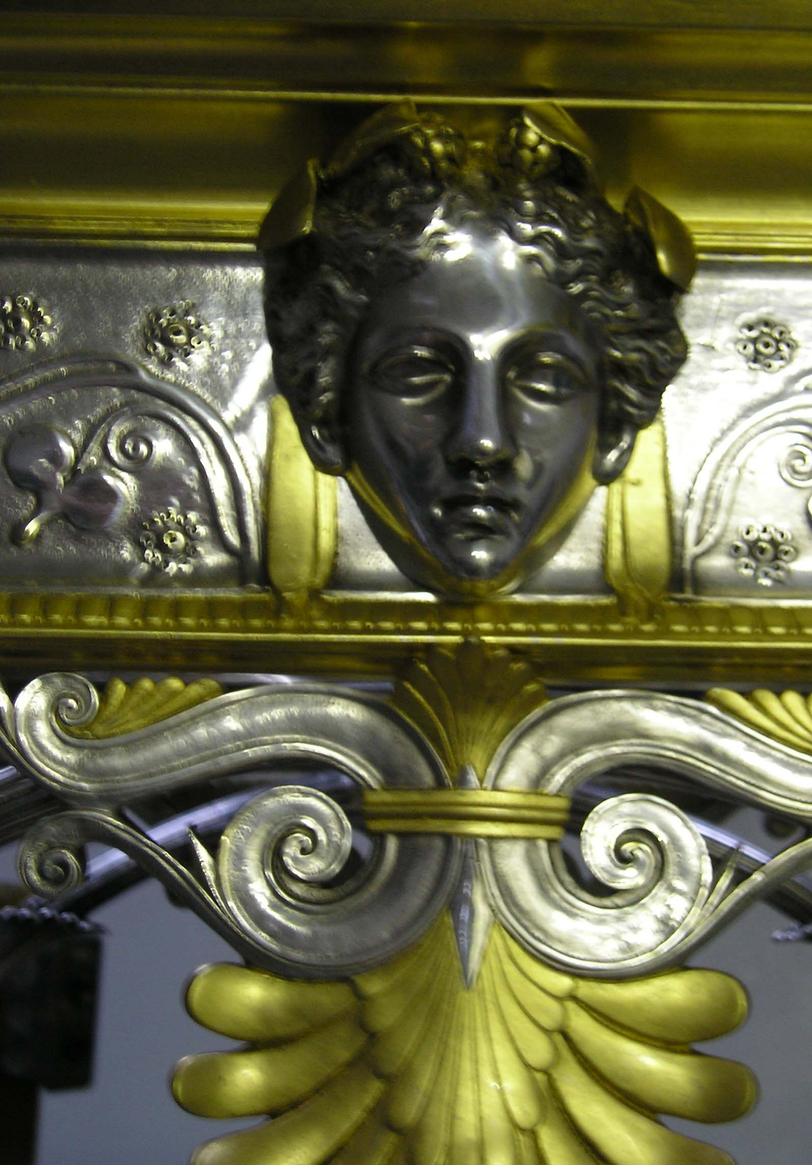 detail after restoration