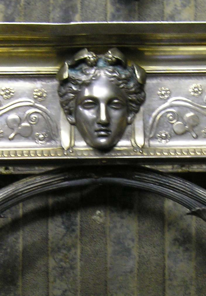 detail before restoration