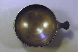 Quaich was missing handle on one side