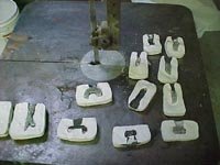 Castings for missing parts